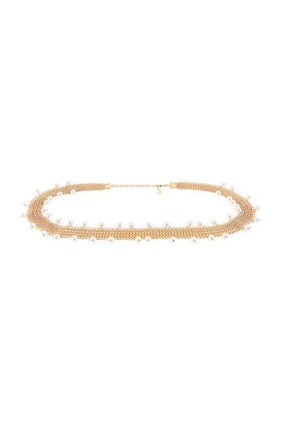 Lili Claspe Sabrina Shaker Belt in gold / metallic