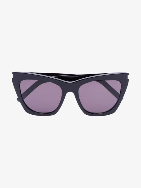 Saint Laurent Eyewear black Kate D-frame sunglasses