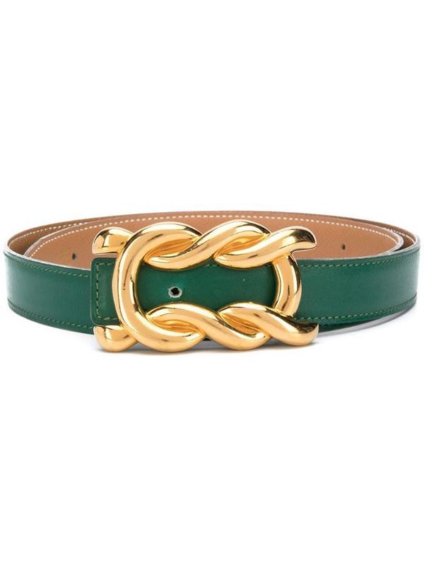 Hermès 1990s pre-owned belt in green