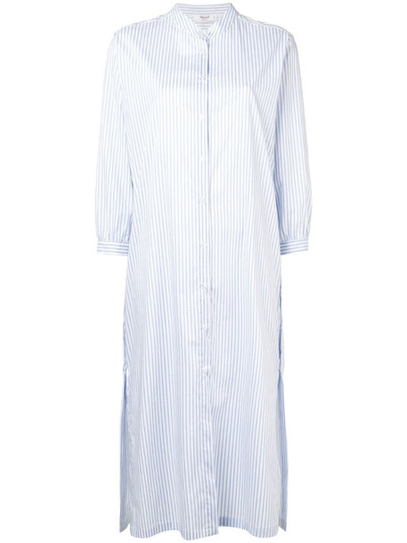 Blugirl striped shirt dress in blue