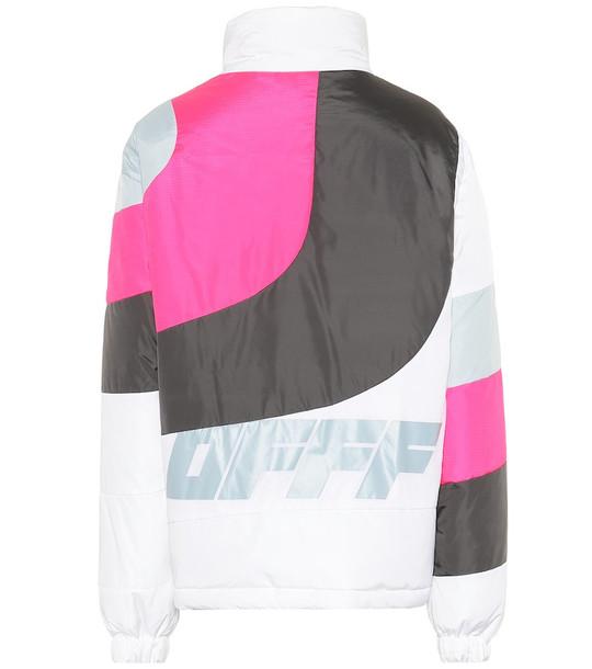 Off-White Nylon down jacket