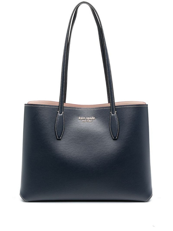 Kate Spade All Day large tote in blue
