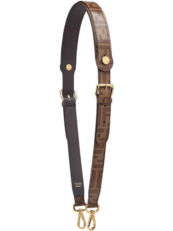 Fendi Strap You bag strap in brown