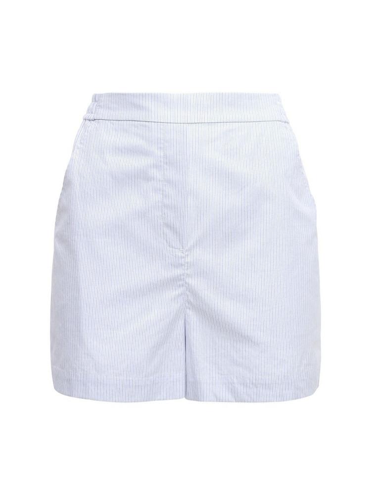 DESIGNERS REMIX Umbria Organic Cotton Shorts in blue