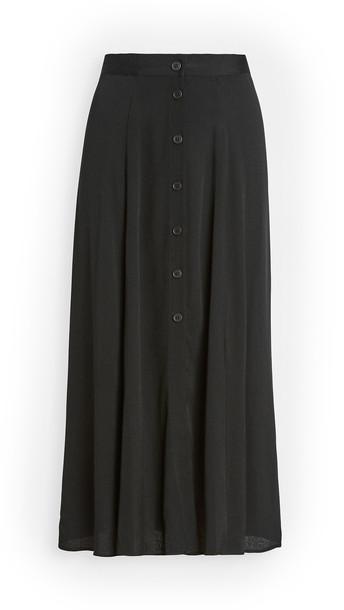 Reformation Hermosa Skirt in black