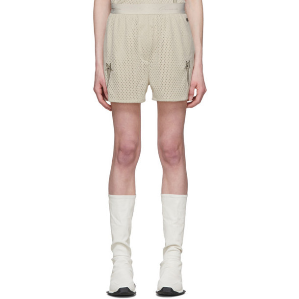 Rick Owens Off-White Champion Edition Mesh Dolphin Boxer Shorts