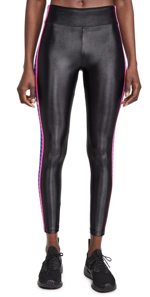 KORAL ACTIVEWEAR Trainer High Rise Leggings in black / blue