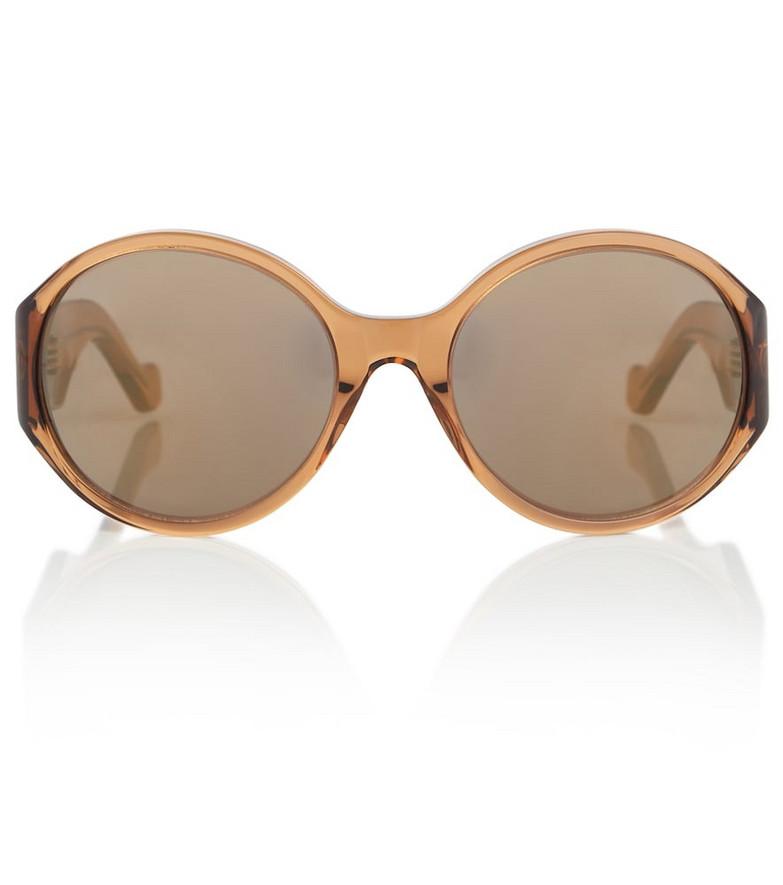 LOEWE Anagram round sunglasses in brown