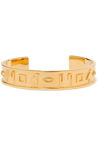 Lucy Folk - Le Memphis Gold-plated Cuff