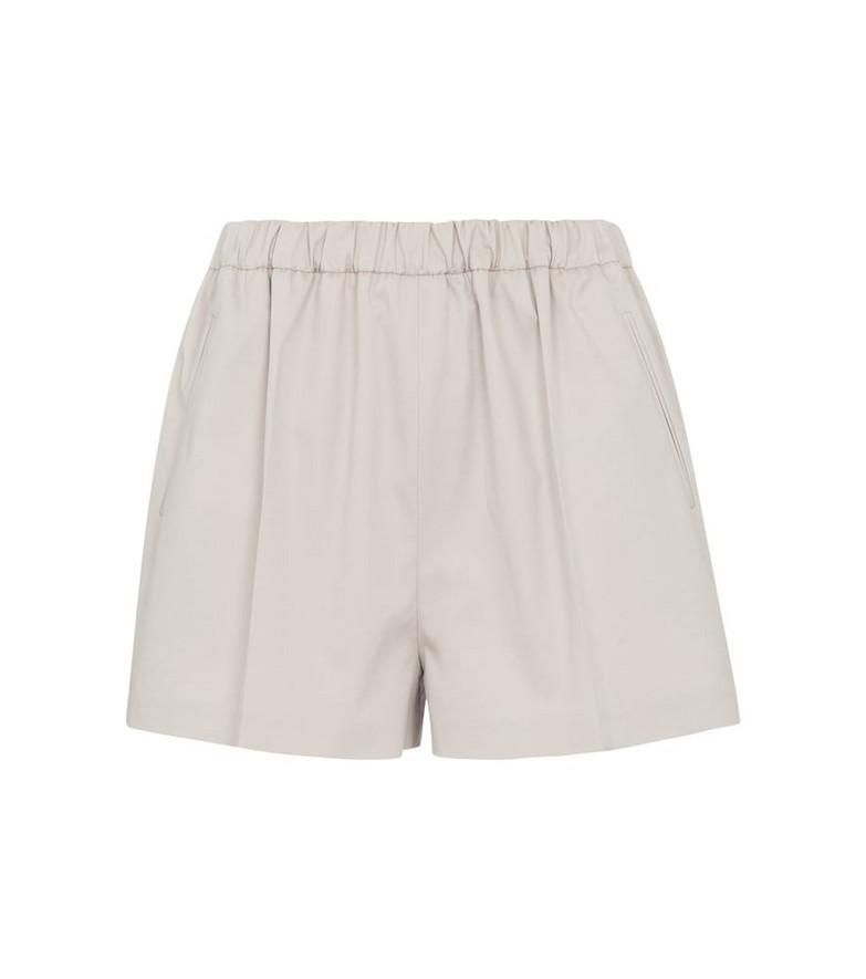 Magda Butrym High-rise shorts in grey
