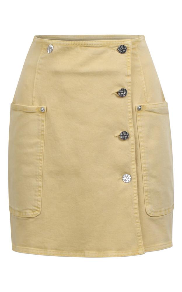 Baum und Pferdgarten Sandy High Waisted Mini Skirt in yellow