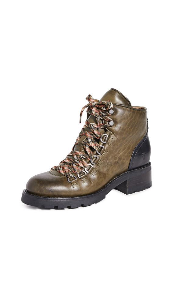 Frye Alta Hiker Boots in multi