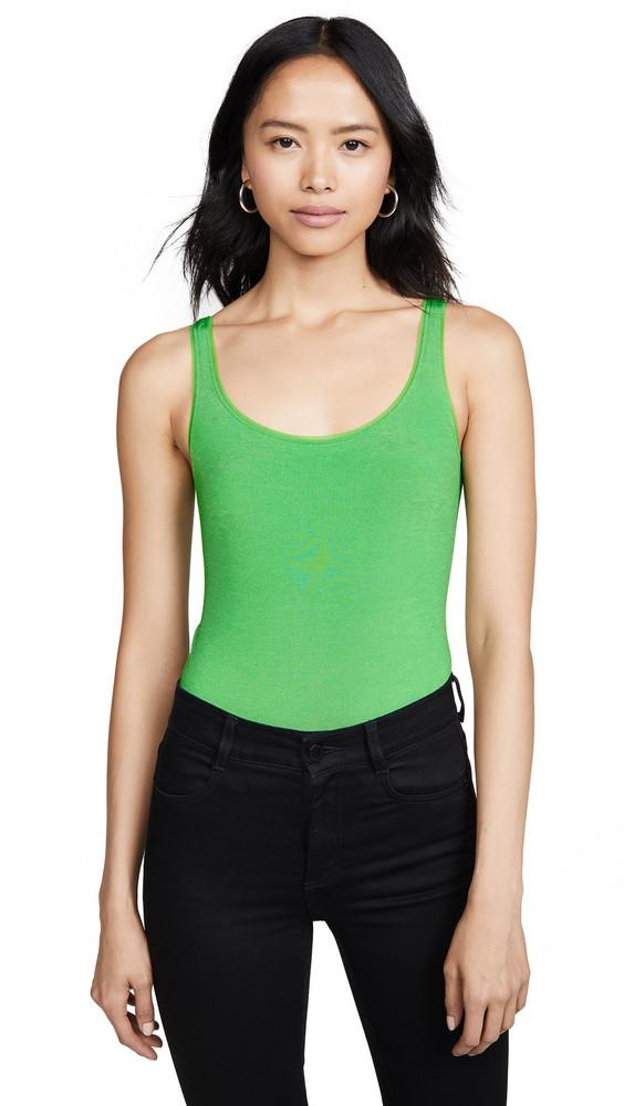 Wolford Jamaika String Thong Bodysuit in green