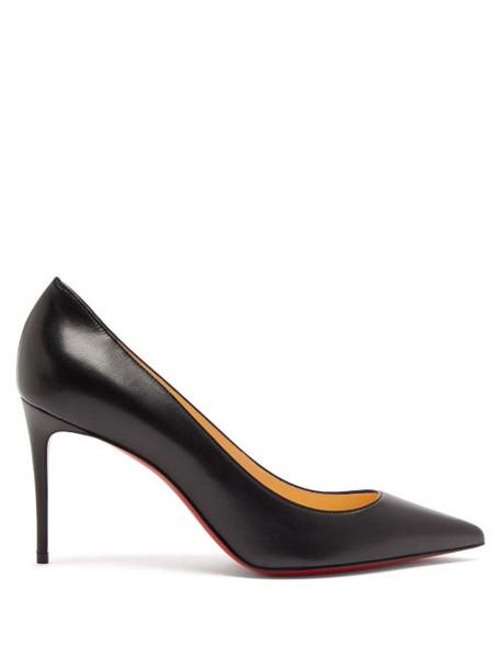 Christian Louboutin - Kate 85 Leather Pumps - Womens - Black