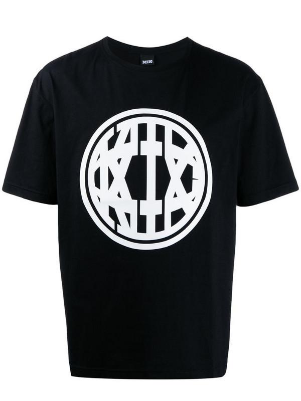 KTZ printed logo T-shirt in black