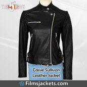 coat,movie,the 5th wave,leather jacket,jacket,fashion,style,outfit,lifestyle,womenswear,womens fashion,women's outfit