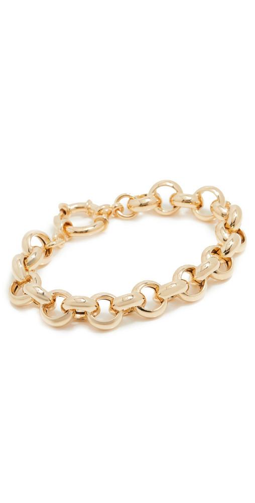 Loren Stewart Euclid Chain Bracelet in gold
