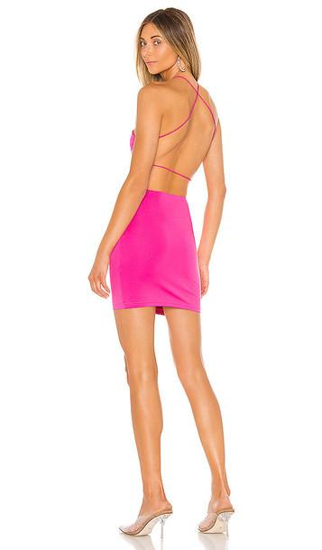 superdown Maisie Strappy Back Dress in Pink