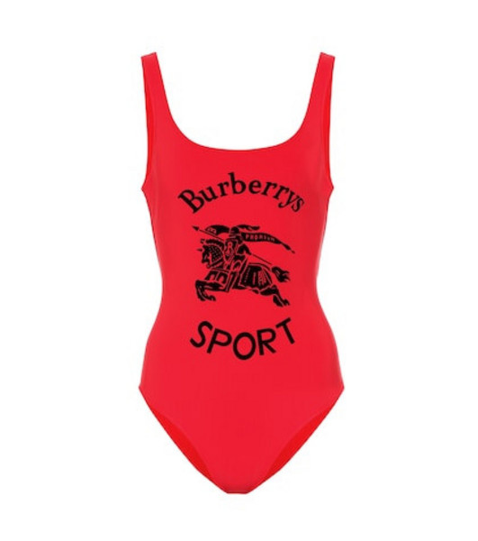 Burberry One-piece swimsuit in red