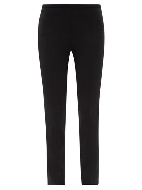 The Row - Sovino High-rise Slim-leg Trousers - Womens - Black