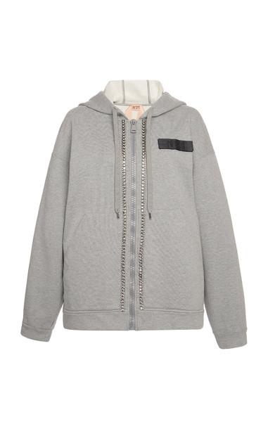 N°21 Beatriz Hoodie in grey