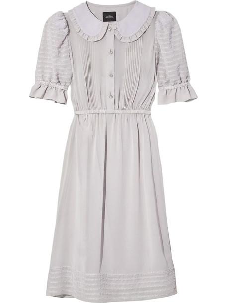 Marc Jacobs The Kat mini dress in grey