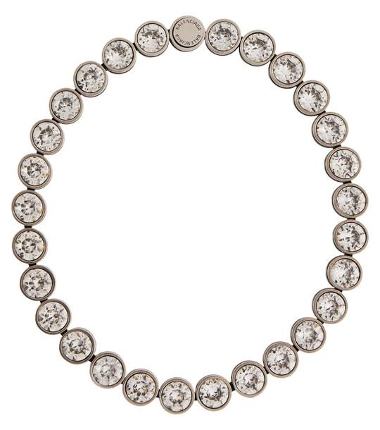 Balenciaga Dot necklace in silver