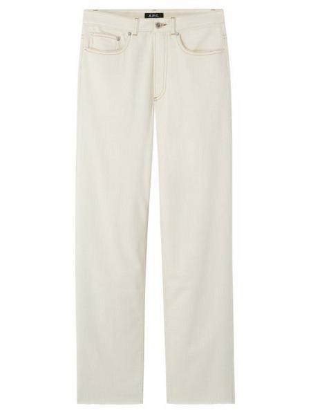 A.P.C. A.P.C. - Alan High-rise Straight-leg Jeans - Womens - Ivory