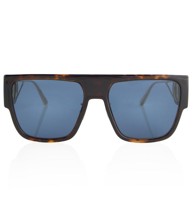 Dior Eyewear 30Montaigne S3U square sunglasses in brown