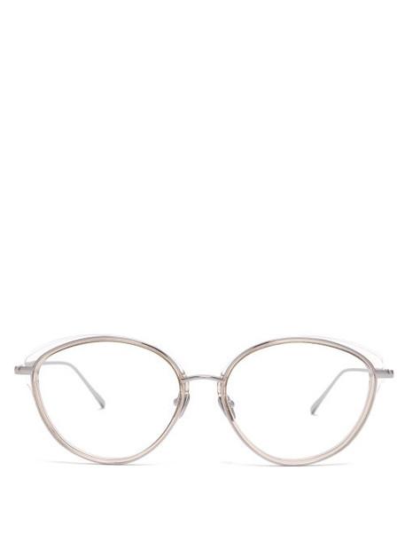 metal clear sunglasses