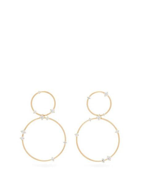 Fernando Jorge - Circus Diamond & 18kt Gold Hoop Earrings - Womens - Gold