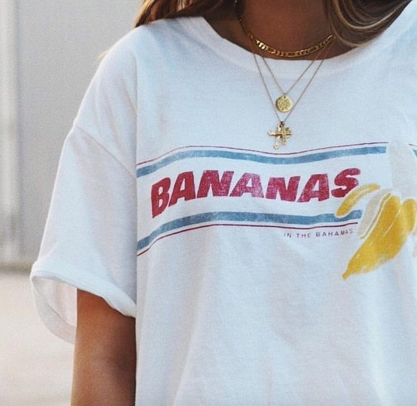top bananas tumblr quote on it graphic tee
