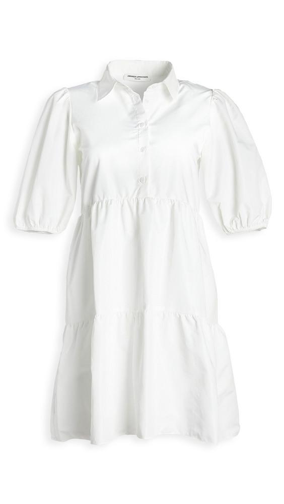 Amanda Uprichard Pierre Dress in white