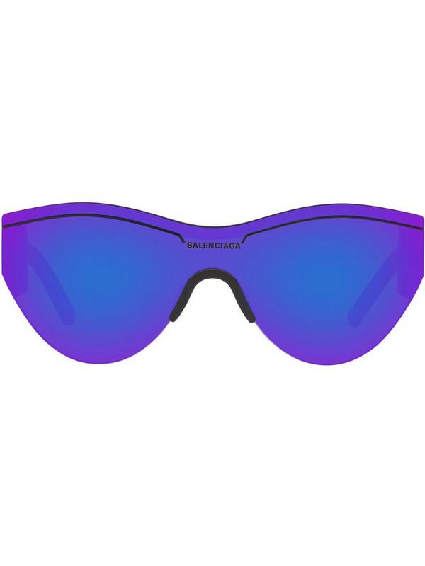 Balenciaga Eyewear Ski cat-eye frame sunglasses in black