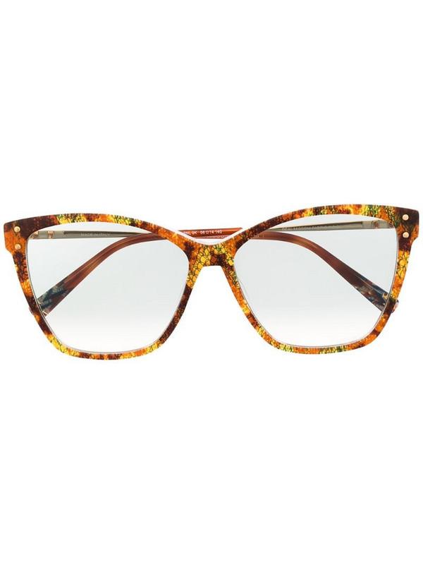 MISSONI EYEWEAR cat-eye sunglasses in brown