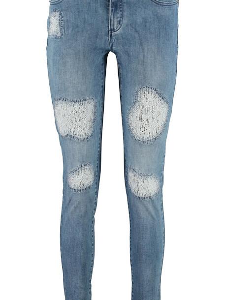 Michael Kors Selma Skinny Jeans in denim / denim