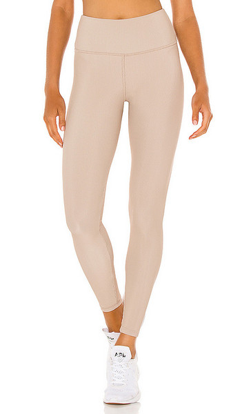 STRUT-THIS Kendall Ankle Legging in Beige in sand