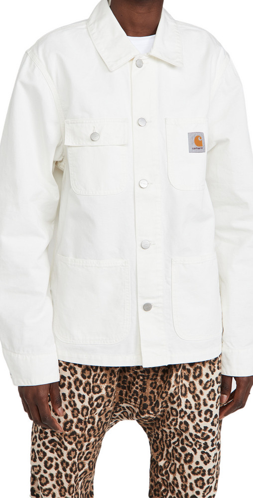 Carhartt WIP Michigan Coat in white