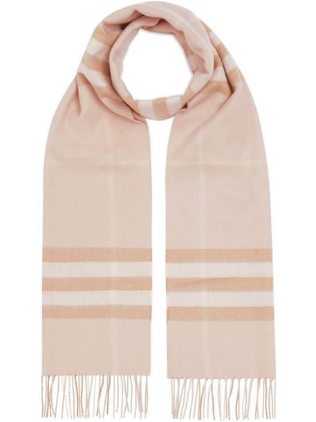 Burberry The Classic Check Cashmere Scarf in neutrals