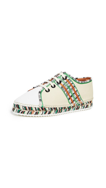 Castaner x Missoni Kerri Flat Espadrilles in natural / multi