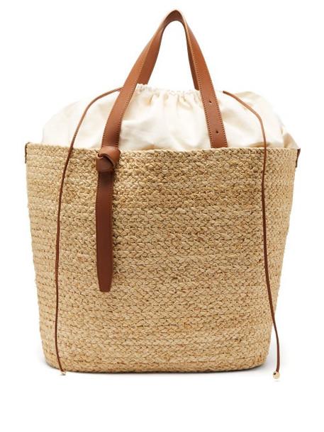 Cesta Collective - Woven Sisal Basket Bag - Womens - Beige