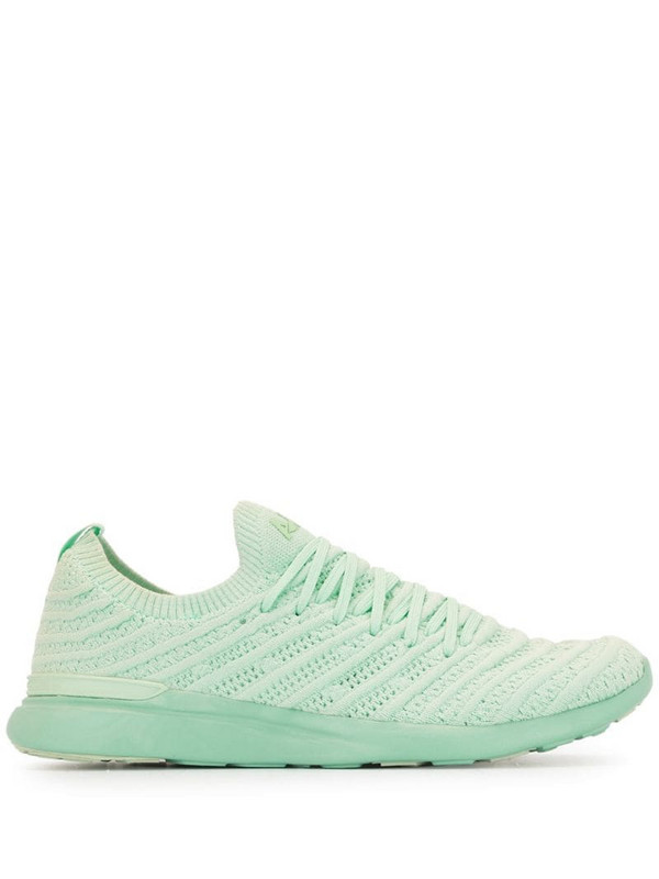APL: ATHLETIC PROPULSION LABS TechLoom Wave knitted sneakers in green