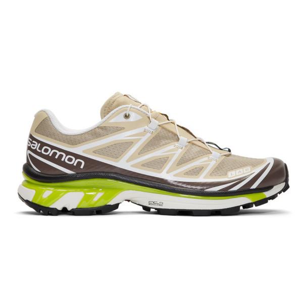 Salomon Beige S/Lab XT-6 Softground LT ADV Sneakers