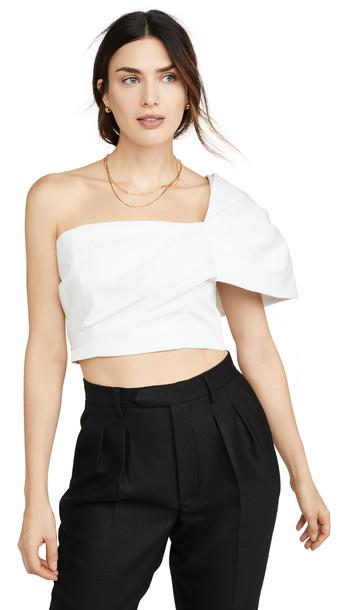 AMUR Lucia Top in white
