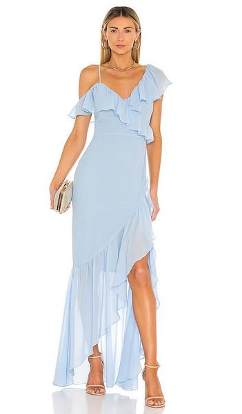 Lovers + Friends Lovers + Friends Karen Maxi Dress in Baby Blue