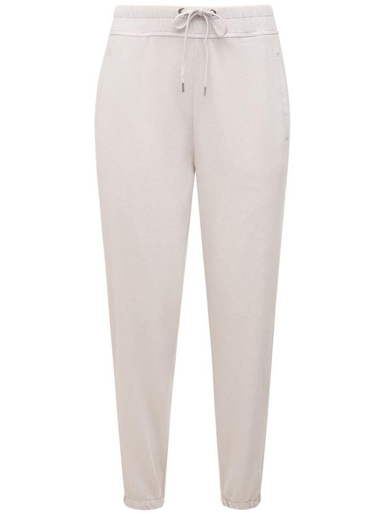 JAMES PERSE Cotton Sweatpants in beige