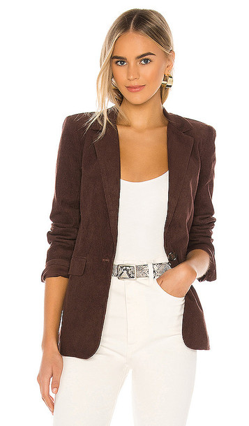 Tularosa The Amedee Blazer in Brown