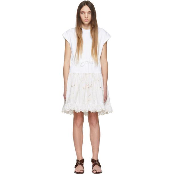 See by Chloé See by Chloé White T-Shirt Dress