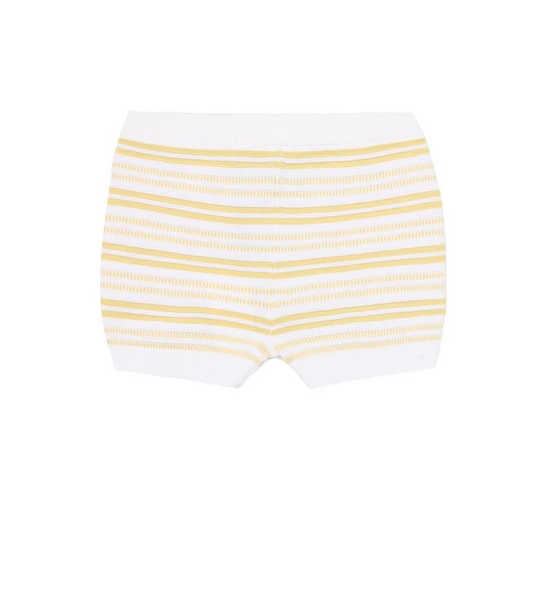 Loro Piana Kids Baby striped cotton shorts