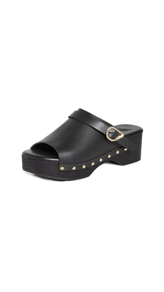Ancient Greek Sandals Classic Clogs in black
